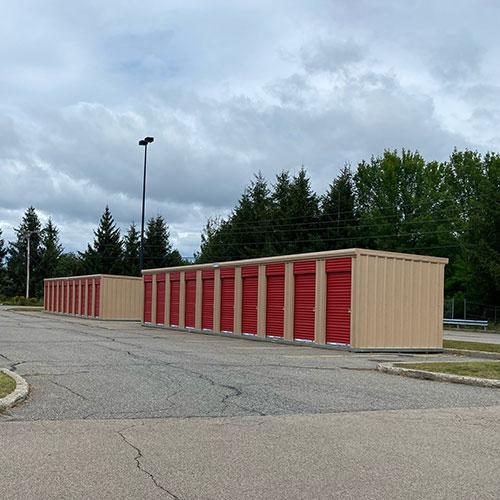 5 x 10 Storage Units